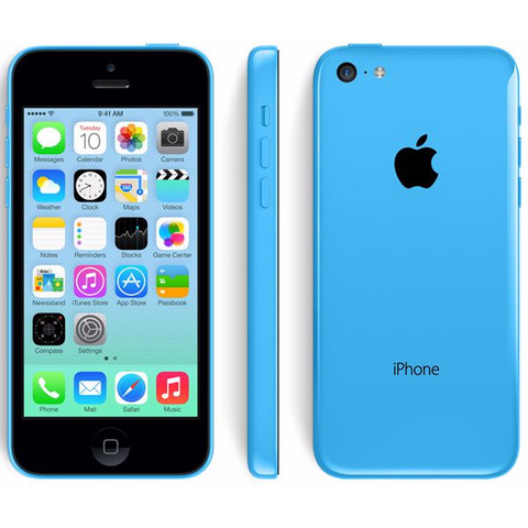 iPhone 5c AT&T Blue 32 GB (Used)