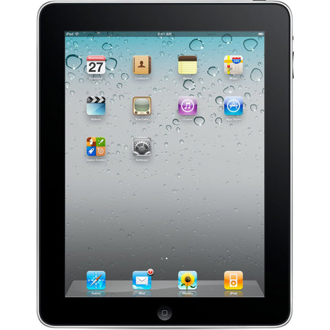 Apple iPad 16GB Black Wi-Fi (Used) 1st Generation