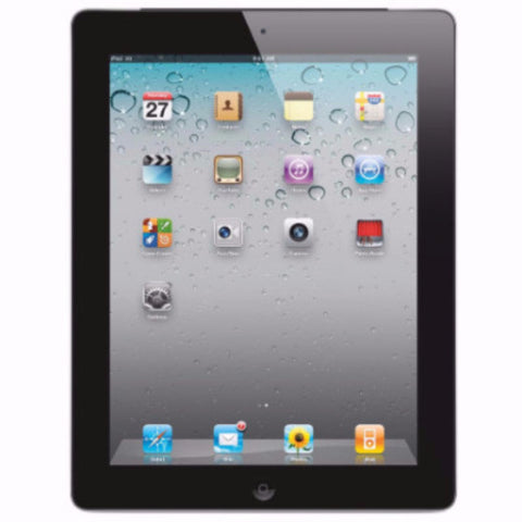 Apple iPad 2 16GB, Wi-Fi Black  (Used)
