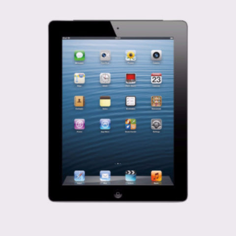 Apple iPad 4 16GB, Wifi, Black 4th Generation (Used)