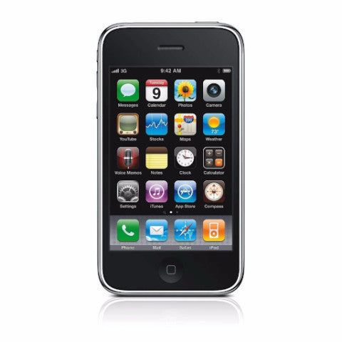 Apple iPhone 3GS 8GB Black AT&T (Used)