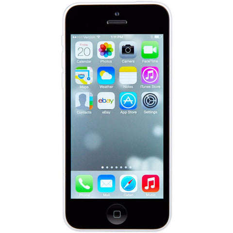 Apple iPhone 5c Unlocked Cellphone White 16GB (Used)