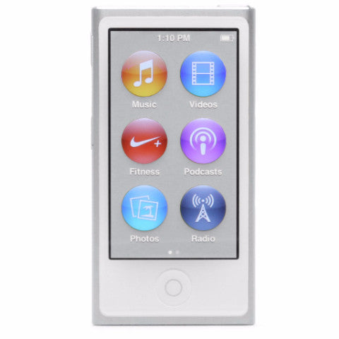 iPod Nano Silver 16 GB (Used) 7th Generation