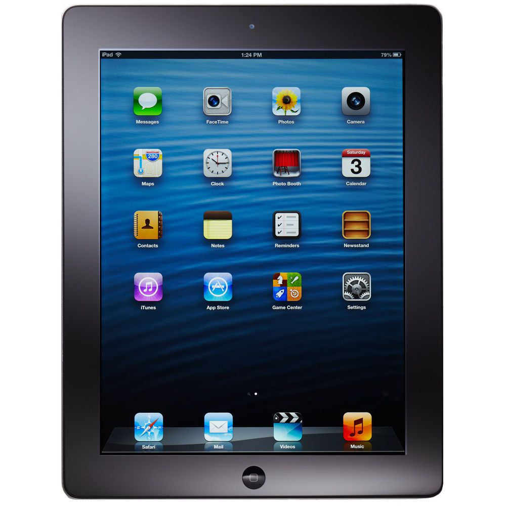 Apple iPad Wi-Fi Black 16GB (Used) 4th Generation
