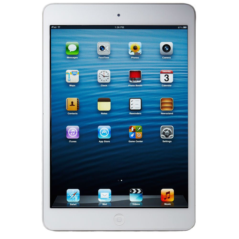 iPad mini Wi-Fi White / Silver 16GB (Used)