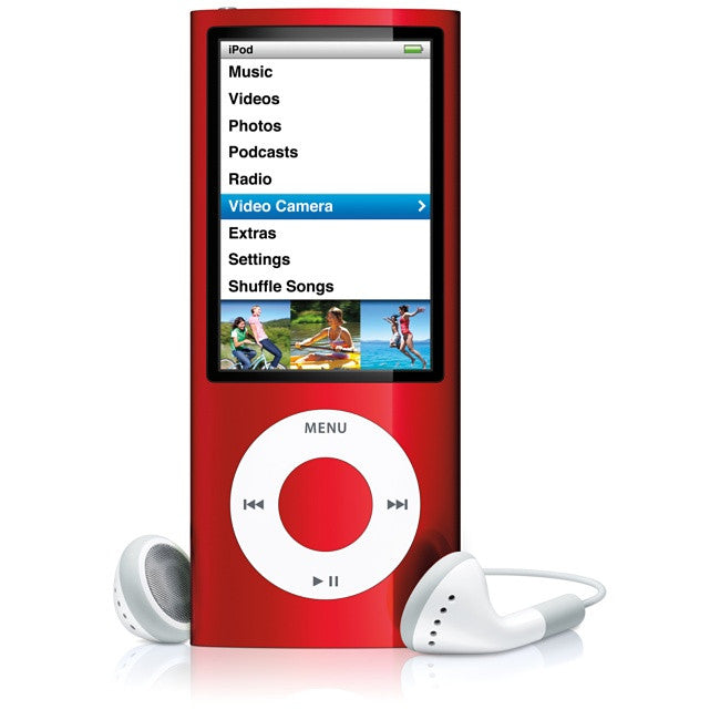 iPod Nano Red 8GB (Used) 4th Generation