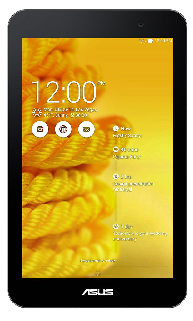 ASUS MeMO Pad 7 ME176C Yellow 16GB (Used) Tablet