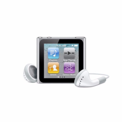 iPod Nano Silver 8GB (Used) 6th Generation