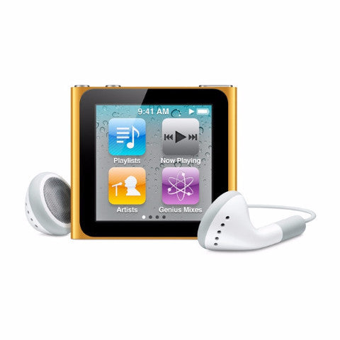 iPod Nano Orange 16GB (Used) 6th Generation