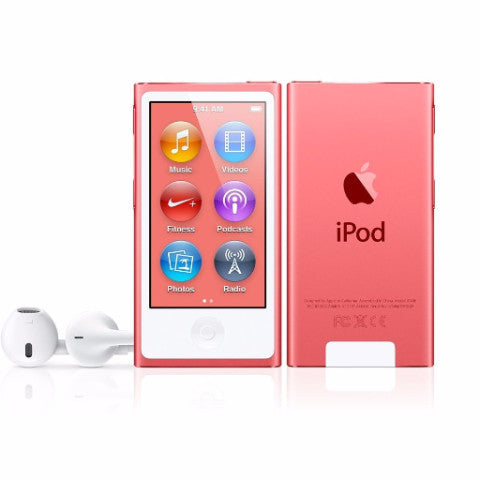 iPod Nano Pink 16GB (Used) 7th Generation