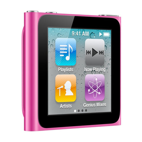 iPod Nano Pink 16GB (Used) 6th Generation