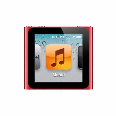 iPod Nano Red 16GB (Used) 6th Generation