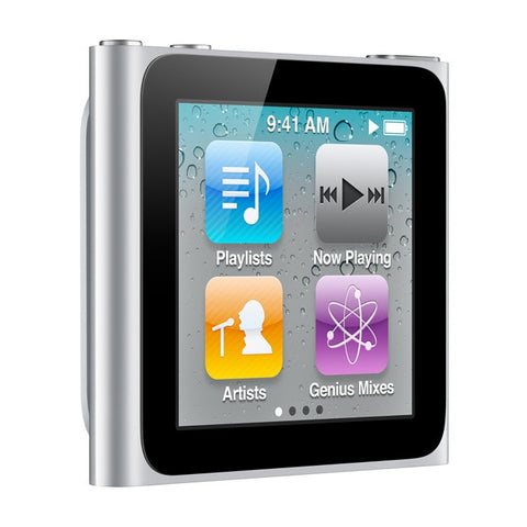 iPod Nano Silver 16GB (Used) 6th Generation