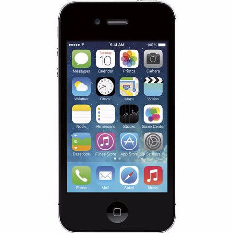 Apple iPhone 4S Unlocked Cellphone Black 16GB (Used)