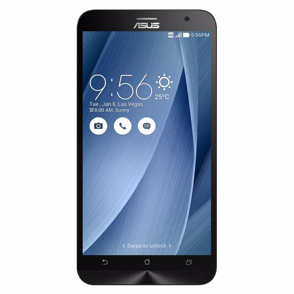 ASUS ZenFone 2 Unlocked Cellphone Silver 64GB (Used) Smartphone