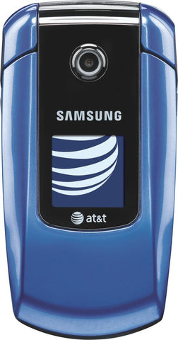Samsung a167 Prepaid GoPhone AT&T Blue (Used) Smartphone