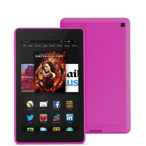 "Amazon Kindle Fire HD 6 6"" HD Display Wi-Fi Magenta 16GB (Used) Tablet"