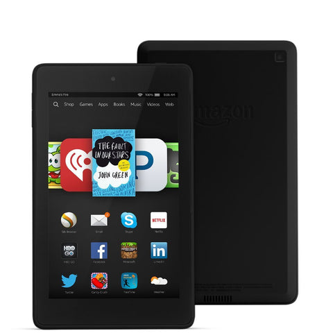 "Amazon Kindle Fire HD 6 6"" HD Display Wi-Fi Black 8GB (Used) Tablet"