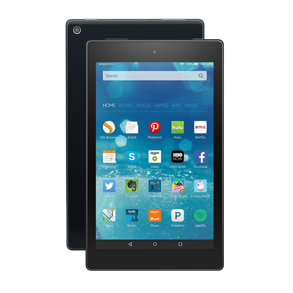 "Amazon Kindle Fire HD 8 8"" HD Display Wi-Fi Black 16GB (Used) Tablet"