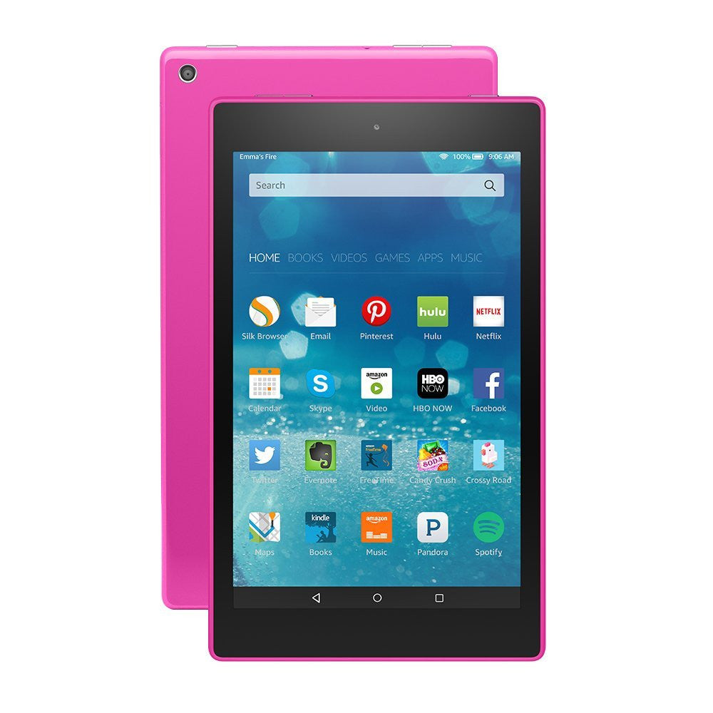 "Amazon Kindle Fire HD 8 8"" HD Display Wi-Fi Magenta 16GB (Used) Tablet"