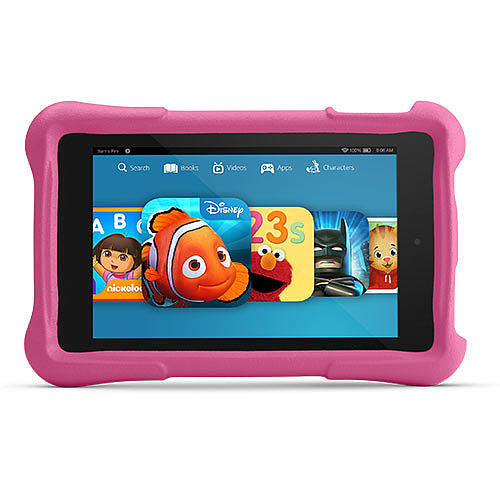 "Amazon Kindle Fire Kids Edition 7"" Display Wi-Fi Kid-Proof Pink 8GB (Used) Tablet"