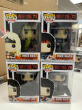 Motley Crue Set of 4 Tommy Lee Nikki Sixx Vince Neil Mick Mars | FUNKO POP! Vinyl