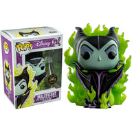 Sleeping Beauty - Maleficent with Flames US Exclusive GITD CHASE VARIANT | FUNKO POP! Vinyl