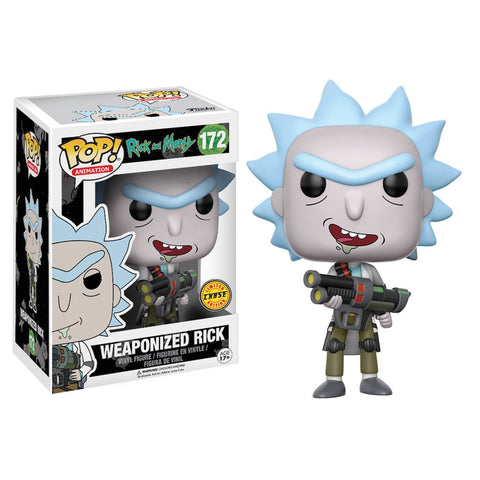 Rick & Morty - Rick Weaponized CHASE | FUNKO POP! Vinyl