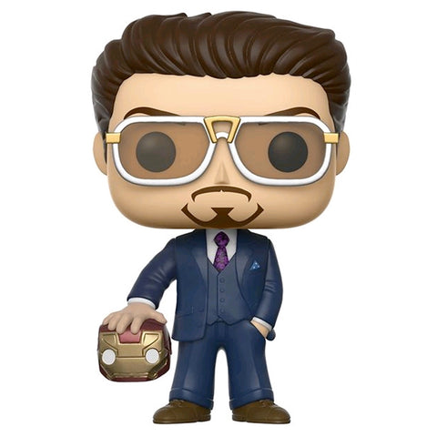 Spider-Man: Homecoming - Tony Stark with Helmet SDCC 2017 US Exclusive | FUNKO POP! Vinyl