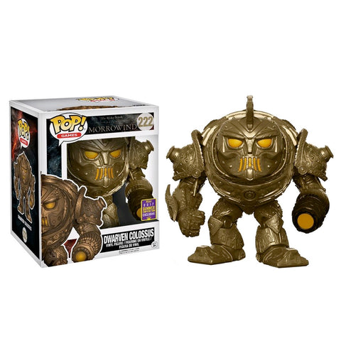 "Elder Scrolls - Dwarven Colossus 6"" SDCC 2017 US Exclusive 