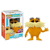 Dr Seuss - Lorax Flocked SDCC 2017 US Exclusive | FUNKO POP! Vinyl