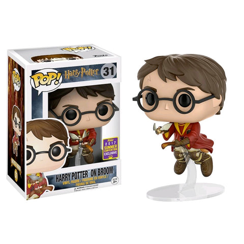 Harry Potter - Harry Potter on Broom SDCC 2017 US Exclusive | FUNKO POP! Vinyl