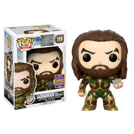 Justice League Movie - Aquaman and Mother Box SDCC 2017 US Exclusive | FUNKO POP! Vinyl