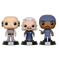 Star Wars - Lobot, Ugnaught, Bespin Guard | 3-Pack US Exclusive | FUNKO POP! Vinyl