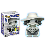 Darkwing Duck - Negatron Glow SDCC 2017 US Exclusive | FUNKO POP! Vinyl