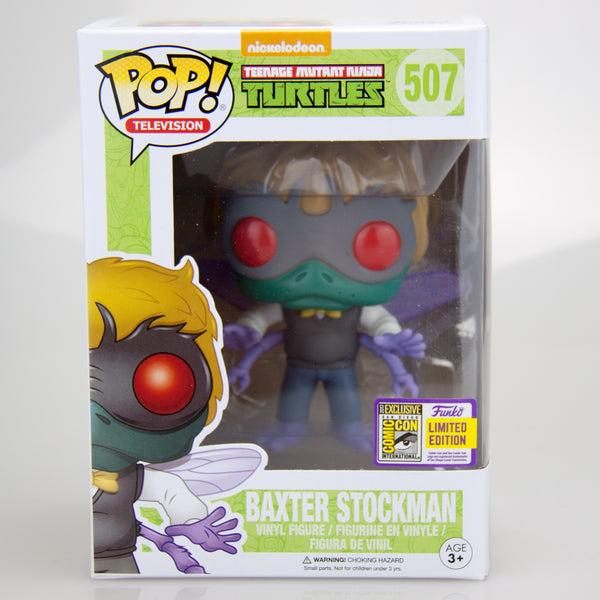 Teenage Mutant Ninja Turtles - Baxter Stockman SDCC 2017 US Con Issued Exclusive  | FUNKO POP! Vinyl