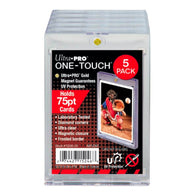 ULTRA PRO ONE TOUCH - 75PT -UV w/Magnetic Closure 5 PACK