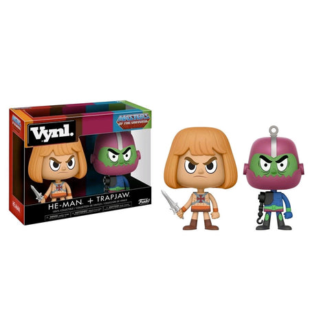 Masters of the Universe - He-Man & Trapjaw Vynl