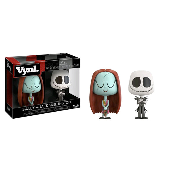 The Nightmare Before Christmas - Jack & Sally Vynl