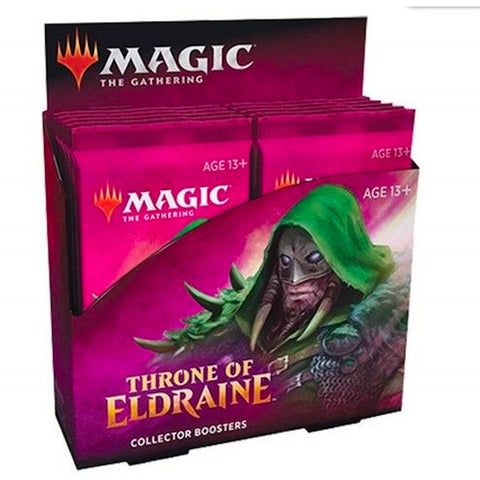 Magic The Gathering Throne of Eldraine Collector Booster Display BOX Sealed