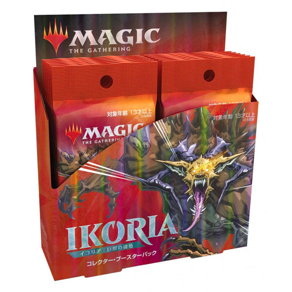 Magic The Gathering Ikoria Lair of Behemoths Japanese Collector Booster Box