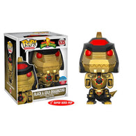 "Dragonzord Power Rangers 6"" NYCC 2017 BLACK GOLD Exclusive RS 