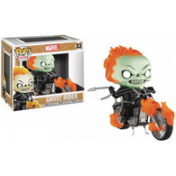 Ghost Rider - Ghost Rider GITD Glow US Exclusive | FUNKO POP! Ride