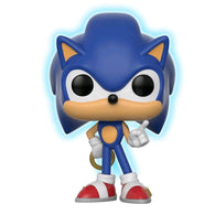 Sonic the Hedgehog Sonic with Ring Glow US Exclusive | FUNKO POP! Vinyl