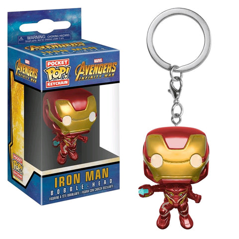 Avengers 3: Infinity War - Iron Man Pocket Pop! Keychain