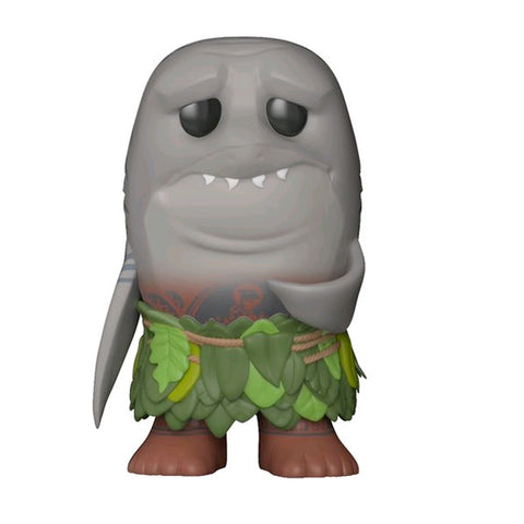 ECCC 2018 Moana - Maui (Shark Head) | US Exclusive | FUNKO POP! Vinyl