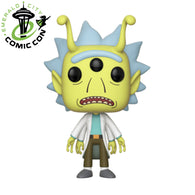 ECCC 2018 Rick and Morty: Alien Head Rick | US Exclusive | FUNKO POP! Vinyl
