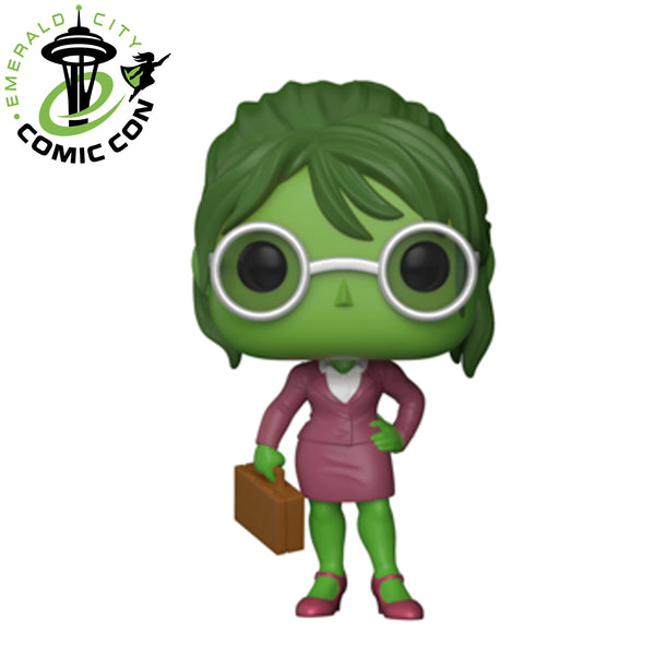 ECCC 2018 Marvel: Lawyer She-Hulk | US Exclusive | FUNKO POP! Vinyl