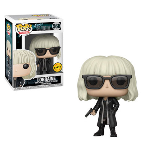 Atomic Blonde - Lorraine with Gun CHASE VARIANT wearing Glasses | FUNKO POP! Vinyl