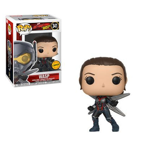 Ant-Man and the Wasp - Wasp UNMASKED CHASE VARIANT | FUNKO POP! Vinyl FUN30730